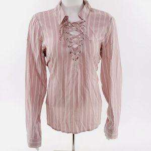 Guess Los Angeles Lacie Long Sleeve Top Shirt